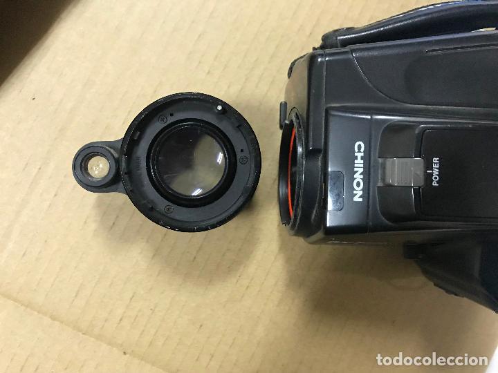 Cámara de fotos: CAMARA FOTOGRAFICA CHINON GS-7 REFLEX ZOOM, 1989, con funda - Foto 13 - 119174907