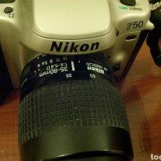Cámara de fotos: CÁMARA ANALÓGICA NIKON F-50. NO SE ACEPTAN OFERTAS SOBRE ESTE LOTE. Lote 119541432