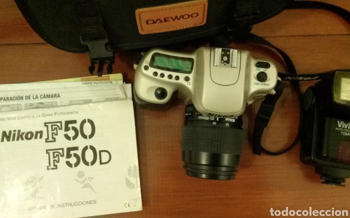 Cámara de fotos: Cámara analógica Nikon F-50 - Foto 3 - 119541432