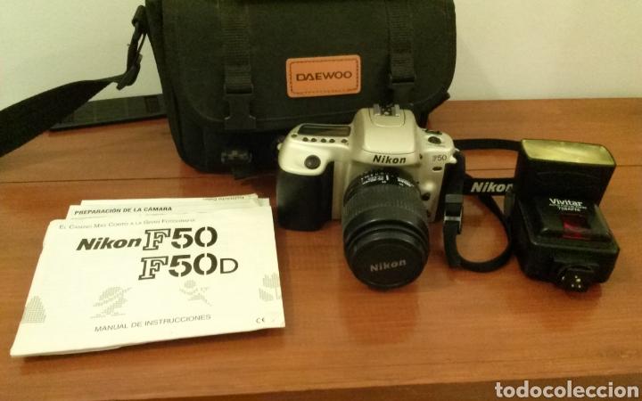 Cámara de fotos: Cámara analógica Nikon F-50 - Foto 4 - 119541432