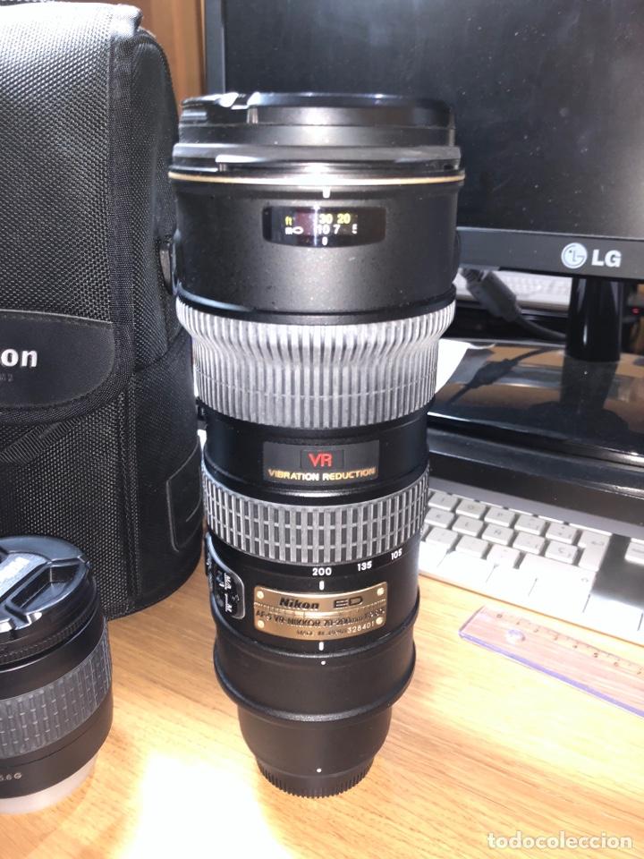 Cámara de fotos: Cámara de fotos y objetivos Nikon - Foto 4 - 119727844
