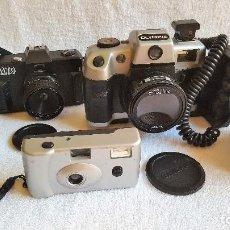 Cámara de fotos: LOTE DE 3 CAMARAS OLYMPIA, ALTO Y OTRA (TAL CUAL IMAGENES). Lote 128389783