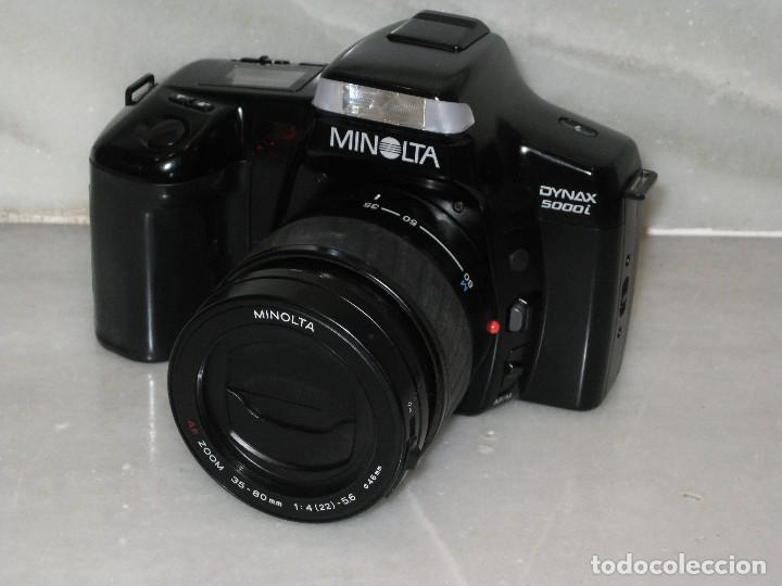 Cámara de fotos: Minolta 5000i más Flash Minolta 3200i - Foto 3 - 122471947