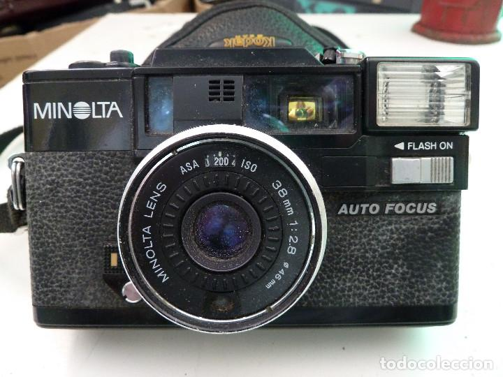 CAMARA MINOLTA HI-MATIC AF-D (Cámaras Fotográficas - Réflex (autofoco))