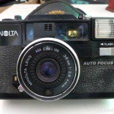 Cámara de fotos: CAMARA MINOLTA HI-MATIC AF-D. Lote 122532583
