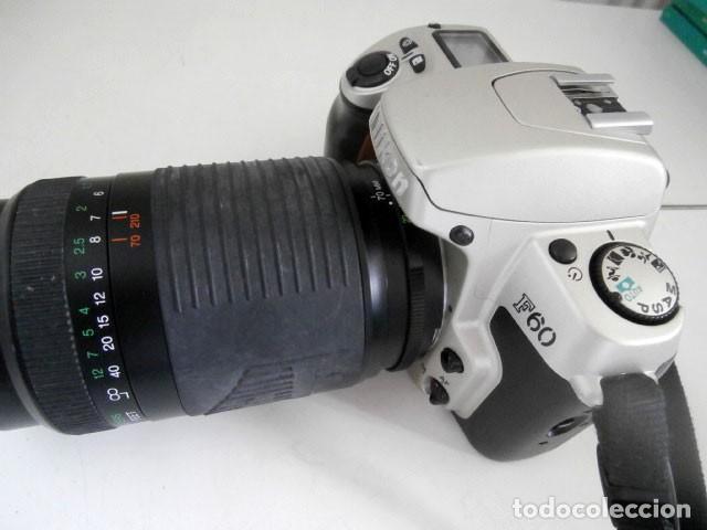 Cámara de fotos: CAMARA NIKON F60 MÁS OBJETIVO ZOOM VIVITAR SERIE 1 - 70-210mm - Foto 5 - 123065331
