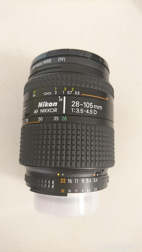 Cámara de fotos: Cámara Nikon F80, manual de instrucciones original y objetivos 70-210 y 28-105 - Foto 2 - 123309923