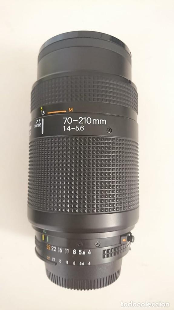 Cámara de fotos: Cámara Nikon F80, manual de instrucciones original y objetivos 70-210 y 28-105 - Foto 3 - 123309923