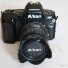 Cámara de fotos: CAMARA NIKON F90 CON OBJETIVO SIGMA 28-70 ,1: 3,5-4,5. Lote 125016935