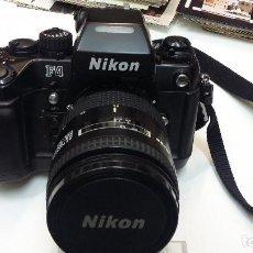 Cámara de fotos: CAMARA ANALOGICA NIKON F-4 CON OBJETIVO 28-85 F 3,5 IMPECABLE. Lote 125090923