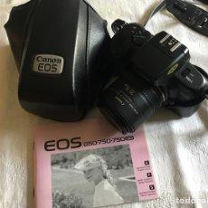 Cámara de fotos: CANON EOS 750. Lote 126795478