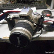 Cámara de fotos: CAMARA CANON EOS 300 CON OBJETIVO 28-90 . Lote 128175779