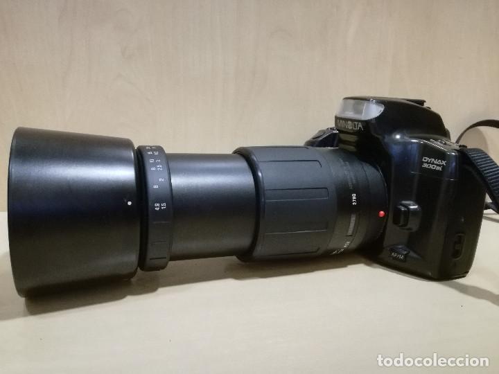 Cámara de fotos: CAMARA FOTOGRAFICA - MINOLTA DIMAX 300SI + ZOOM AF 35-70 + ZOOM TAMRON 80-210 + FILTRO HAMA PL M-52 - Foto 3 - 130071919