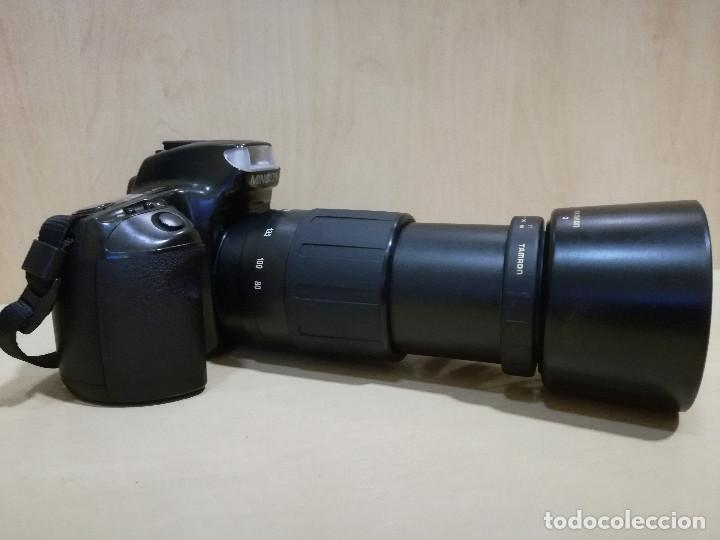 Cámara de fotos: CAMARA FOTOGRAFICA - MINOLTA DIMAX 300SI + ZOOM AF 35-70 + ZOOM TAMRON 80-210 + FILTRO HAMA PL M-52 - Foto 4 - 130071919
