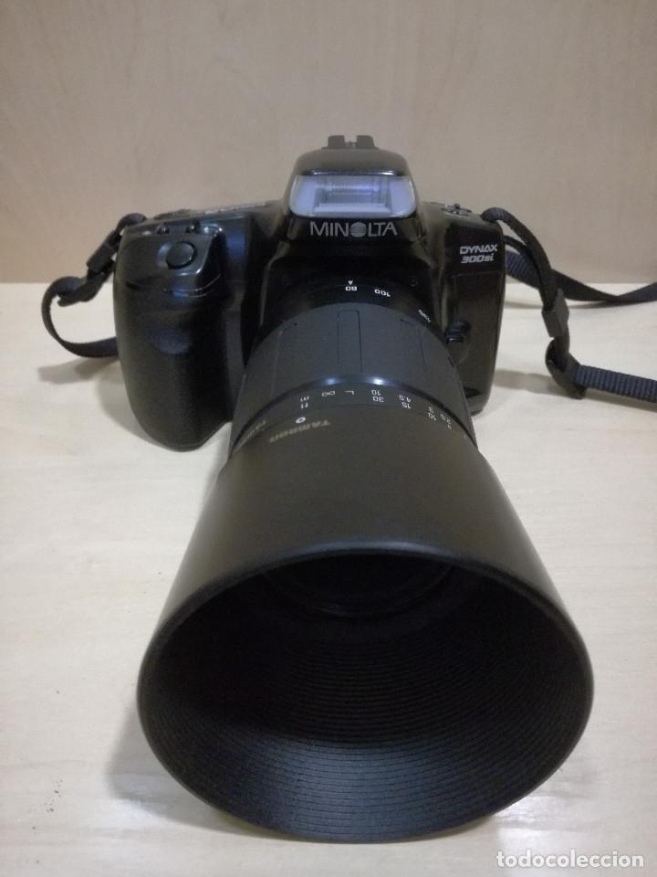 Cámara de fotos: CAMARA FOTOGRAFICA - MINOLTA DIMAX 300SI + ZOOM AF 35-70 + ZOOM TAMRON 80-210 + FILTRO HAMA PL M-52 - Foto 5 - 130071919