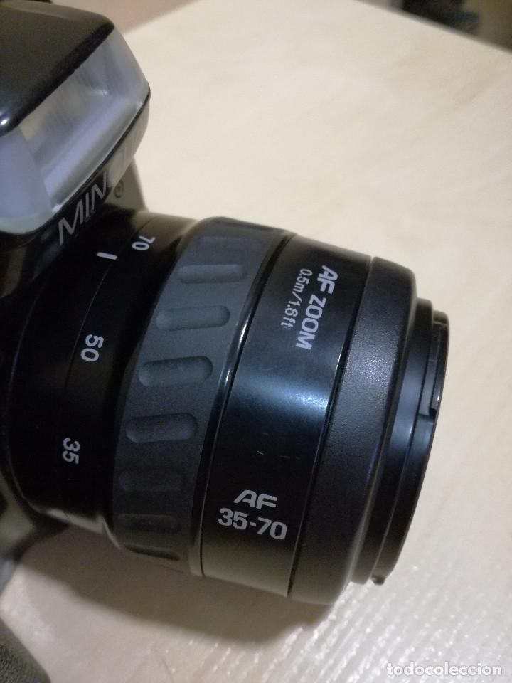 Cámara de fotos: CAMARA FOTOGRAFICA - MINOLTA DIMAX 300SI + ZOOM AF 35-70 + ZOOM TAMRON 80-210 + FILTRO HAMA PL M-52 - Foto 14 - 130071919