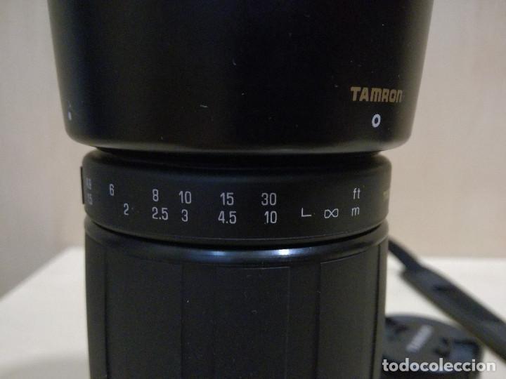 Cámara de fotos: CAMARA FOTOGRAFICA - MINOLTA DIMAX 300SI + ZOOM AF 35-70 + ZOOM TAMRON 80-210 + FILTRO HAMA PL M-52 - Foto 16 - 130071919