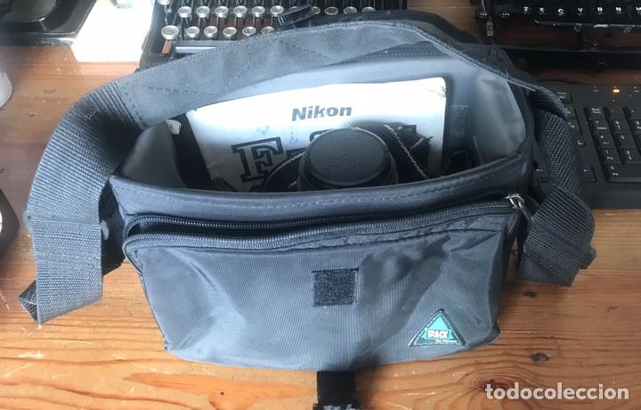 Cámara de fotos: Cámara AF Nikon F 601. Objetivo Sigma 28/70. Bolsa de Transporte. - Foto 16 - 130609799