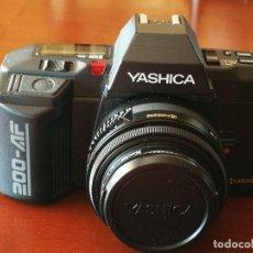 Cámara de fotos: VENTA CONJUNTA O SEPARADA LOTE DE FOTOGRAFIA: CAMARA YASHICA 200-AF, FLASH YASHICA CS-250 AF.... Lote 131115888