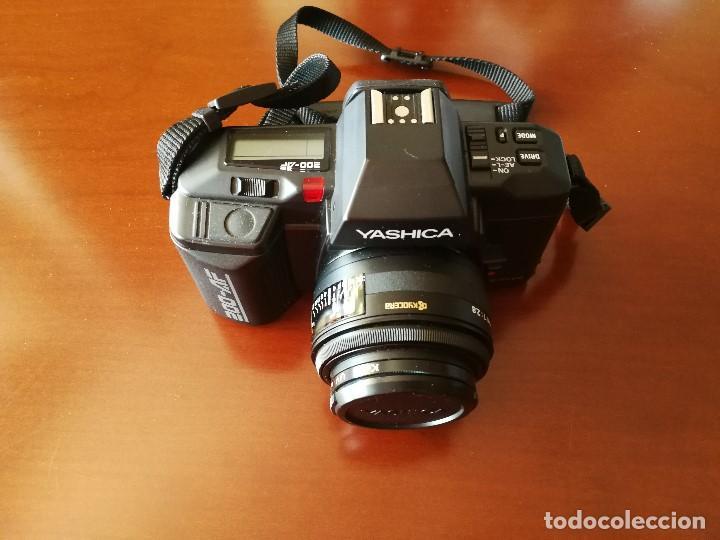 Cámara de fotos: VENTA CONJUNTA O SEPARADA LOTE DE FOTOGRAFIA: CAMARA YASHICA 200-AF, FLASH YASHICA CS-250 AF... - Foto 5 - 131115888