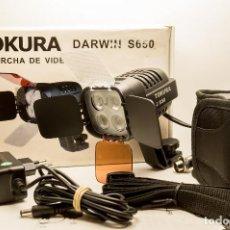 Cámara de fotos: ANTORCHA LED PROFESIONAL TOKURA DARWIN S-650. Lote 131153344