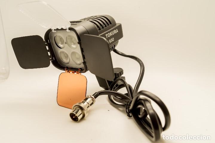 Cámara de fotos: ANTORCHA LED PROFESIONAL TOKURA DARWIN S-650 - Foto 8 - 131153344