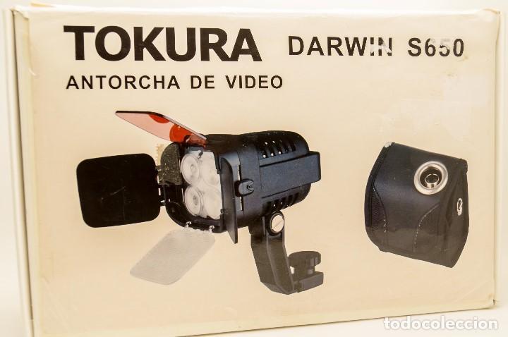 Cámara de fotos: ANTORCHA LED PROFESIONAL TOKURA DARWIN S-650 - Foto 15 - 131153344