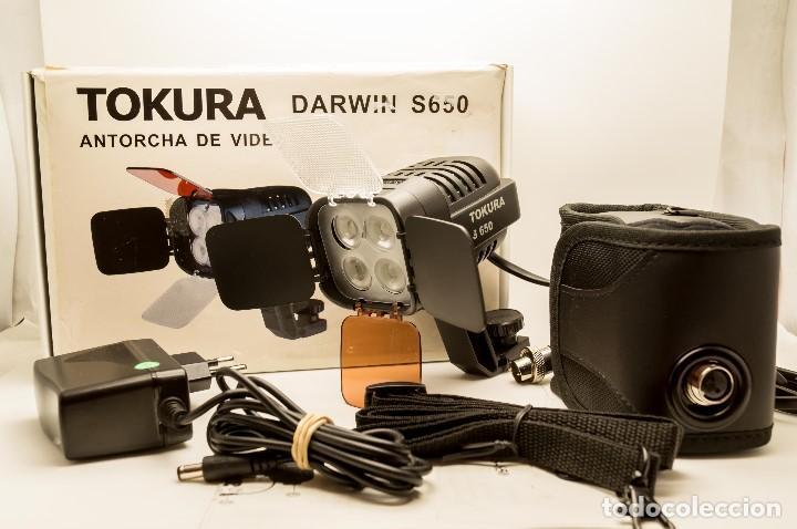 Cámara de fotos: ANTORCHA LED PROFESIONAL TOKURA DARWIN S-650 - Foto 16 - 131153344