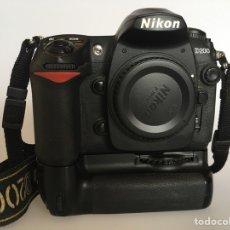 Cámara de fotos: CUERPO CÁMARA NIKON D200+MBD200. Lote 133049318