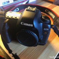 Cámara de fotos: CAMARA DIGITAL CANON 5D MARK II CON VARIOS OBJETIVOS.. Lote 133638910