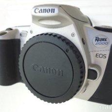 Cámara de fotos: CÁMERA CANON EOS REBEL 2000 35MM SLR. Lote 134560082