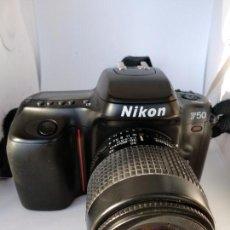 Cámara de fotos: CÁMARA NIKON F50 OBJETIVO NIKKOR 35-80 FUNCIONANDO. Lote 134889218