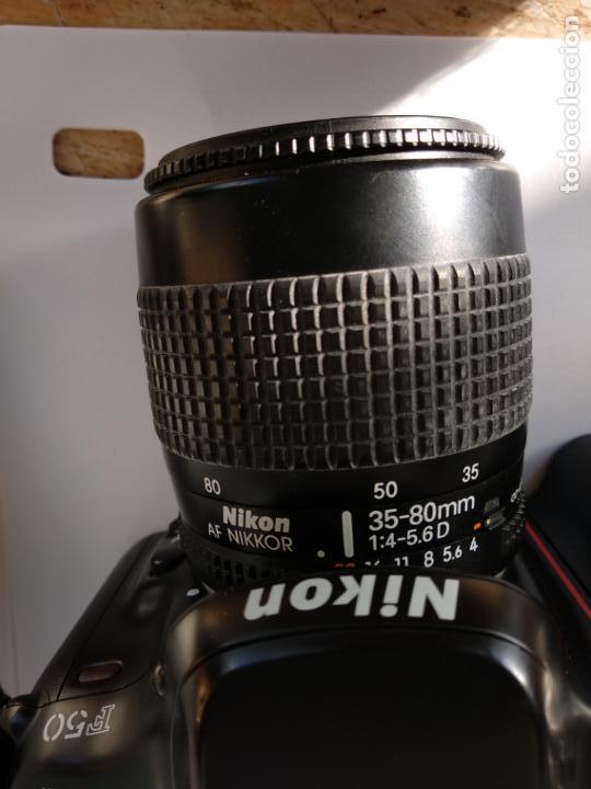 Cámara de fotos: Cámara Nikon F50 objetivo Nikkor 35-80 funcionando - Foto 3 - 134889218