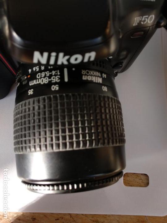 Cámara de fotos: Cámara Nikon F50 objetivo Nikkor 35-80 funcionando - Foto 6 - 134889218