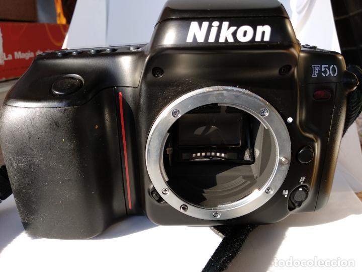 Cámara de fotos: Cámara Nikon F50 objetivo Nikkor 35-80 funcionando - Foto 8 - 134889218