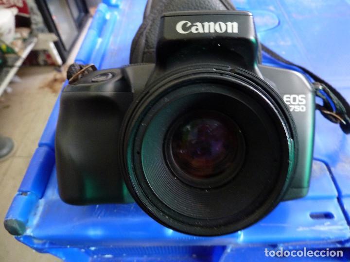 Cámara de fotos: CAMARA DE FOTOS CANON EOS 750 - Foto 7 - 136348362