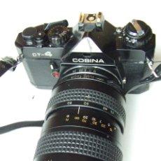 Cámara de fotos: ANTIGUA CAMARA COSINA CT-4 CON OBJETIVO TOSHINAY FLASH PANASONIC EN SU FUNDA. Lote 136398390