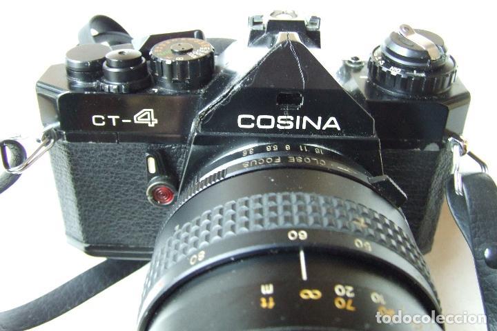 Cámara de fotos: ANTIGUA CAMARA COSINA CT-4 CON OBJETIVO TOSHINAY FLASH PANASONIC EN SU FUNDA - Foto 2 - 136398390