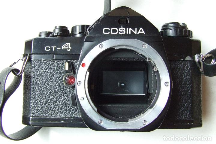 Cámara de fotos: ANTIGUA CAMARA COSINA CT-4 CON OBJETIVO TOSHINAY FLASH PANASONIC EN SU FUNDA - Foto 3 - 136398390