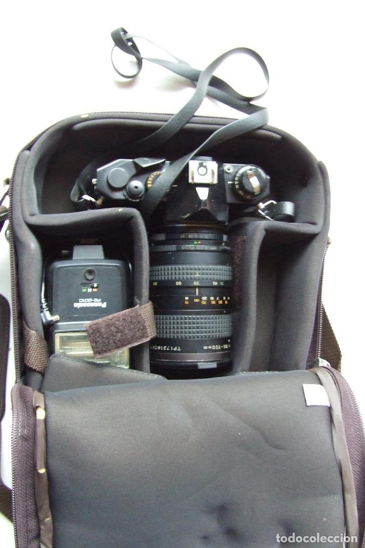 Cámara de fotos: ANTIGUA CAMARA COSINA CT-4 CON OBJETIVO TOSHINAY FLASH PANASONIC EN SU FUNDA - Foto 10 - 136398390