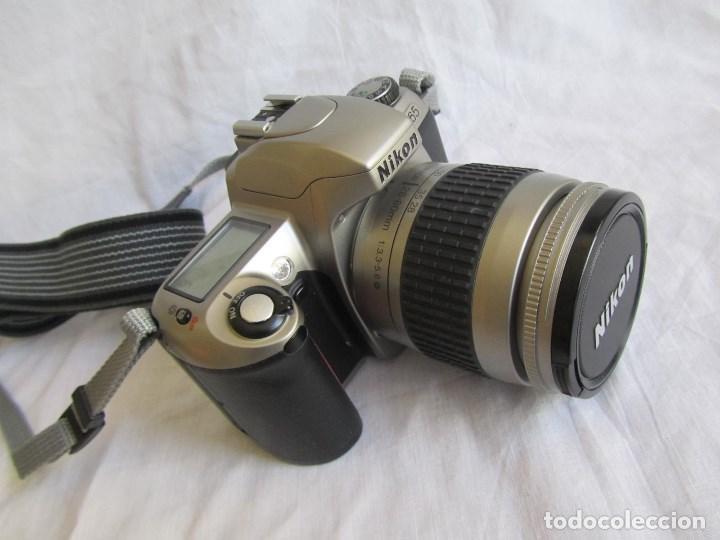 Cámara de fotos: Cámara Nikon F65 + funda + Instrucciones. Funciona perfectamente. - Foto 2 - 138664474