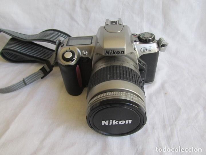 Cámara de fotos: Cámara Nikon F65 + funda + Instrucciones. Funciona perfectamente. - Foto 3 - 138664474