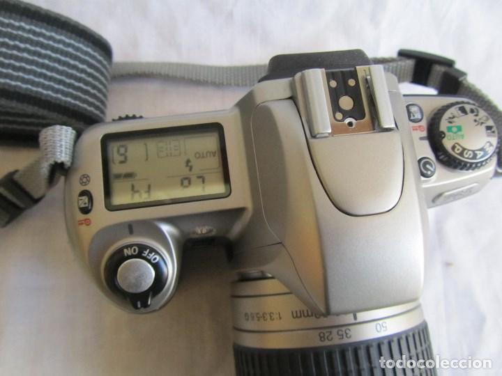Cámara de fotos: Cámara Nikon F65 + funda + Instrucciones. Funciona perfectamente. - Foto 5 - 138664474