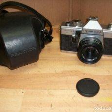 Cámara de fotos: CAMARA PRAKTICA SUPER TL 3-CON FUNDA. Lote 138907794