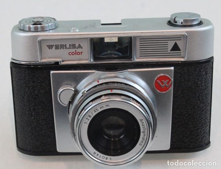 Cámara de fotos: Cámara fotográfica Werlisa-Color, con estuche original - Foto 2 - 138990626