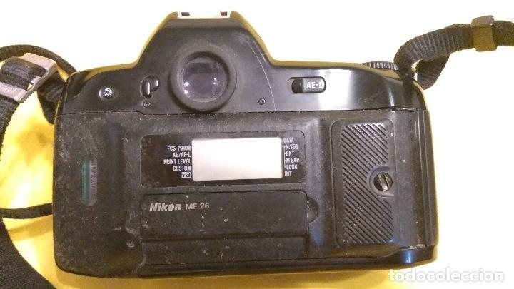 Cámara de fotos: Nikon F90x en buen estado con respaldo Nikon MF-26 - Foto 3 - 140621402