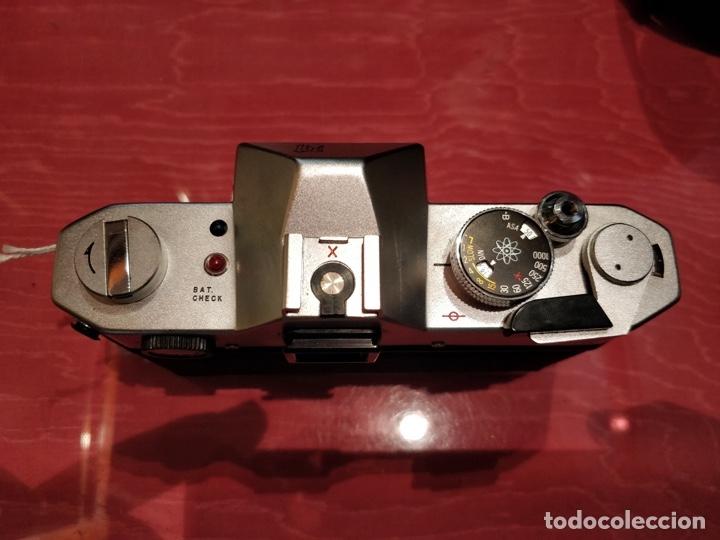 Cámara de fotos: Camara Reflex Yashica, con objetivo Auto Yashinon DX 1,4 200mm. - Foto 5 - 37121992