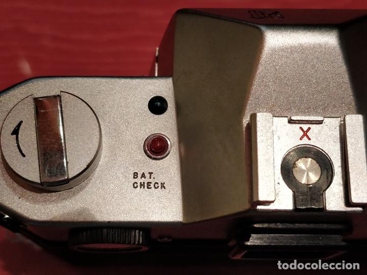 Cámara de fotos: Camara Reflex Yashica, con objetivo Auto Yashinon DX 1,4 200mm. - Foto 7 - 37121992