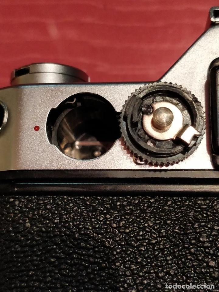 Cámara de fotos: Camara Reflex Yashica, con objetivo Auto Yashinon DX 1,4 200mm. - Foto 12 - 37121992