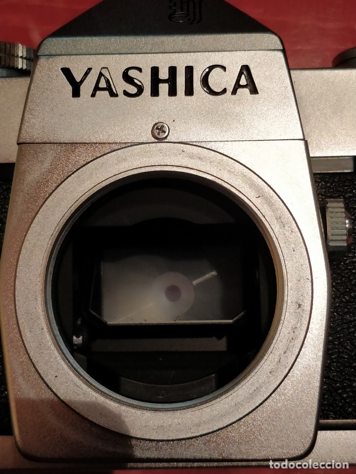 Cámara de fotos: Camara Reflex Yashica, con objetivo Auto Yashinon DX 1,4 200mm. - Foto 13 - 37121992